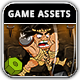 Wothan The Barbarian Game Assets - GraphicRiver Item for Sale