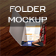 Folder Mock Up - GraphicRiver Item for Sale