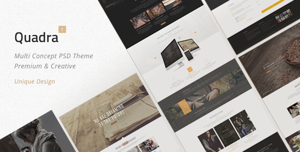 Quadra – Multi Concept Theme