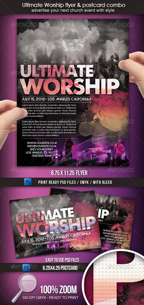 Ultimate Worship Combo - Clubs & Parties Events