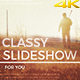 Classy Slideshow - VideoHive Item for Sale