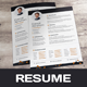 Cleen Resume / CV Design - GraphicRiver Item for Sale