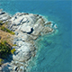 Aerial Sea and Rocks 9 - VideoHive Item for Sale