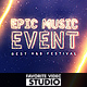 Epic Music Event - VideoHive Item for Sale
