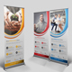 Roll Up Banner Template Bundle - GraphicRiver Item for Sale