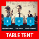 Multipurpose Business Corporate Table Tent - GraphicRiver Item for Sale