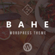 Bahe - Responsive One Page Portfolio Theme Nulled