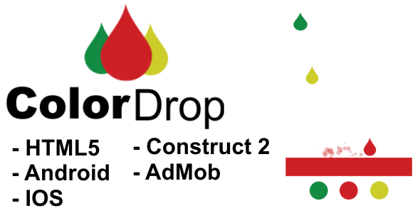 Color Drop - HTML5 Mobile Game - CodeCanyon Item for Sale