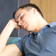 Tired and Sleeping Man - VideoHive Item for Sale