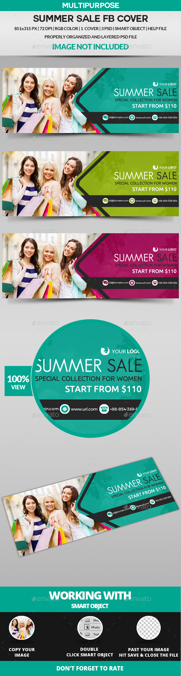 Summer Sale Facebook Cover By Greatbon9 Graphicriver