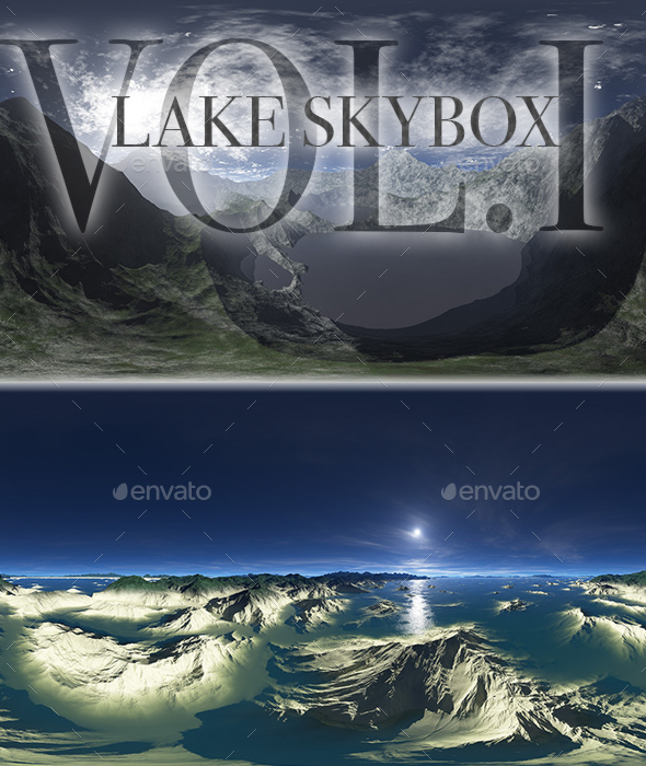 Lake Skybox Pack Vol.I - 3DOcean Item for Sale