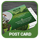 Golf post card. - GraphicRiver Item for Sale