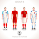 EURO 2016 GROUP B Championship - GraphicRiver Item for Sale