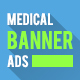 Medical Services Banner Ads - GraphicRiver Item for Sale
