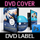 Graduation Ceremony DVD Cover and Label Template Vol.2 - GraphicRiver Item for Sale
