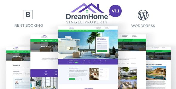 DreamHome – Single Property WordPress Theme