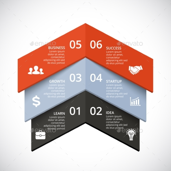 Up arrows diagram startup infographic psd eps ai by graphicseamus up arrows diagram startup infographic psd eps ai infographics ccuart Choice Image