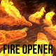 Fire Logo Opener - VideoHive Item for Sale