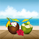 Cocktails on the Beach - GraphicRiver Item for Sale