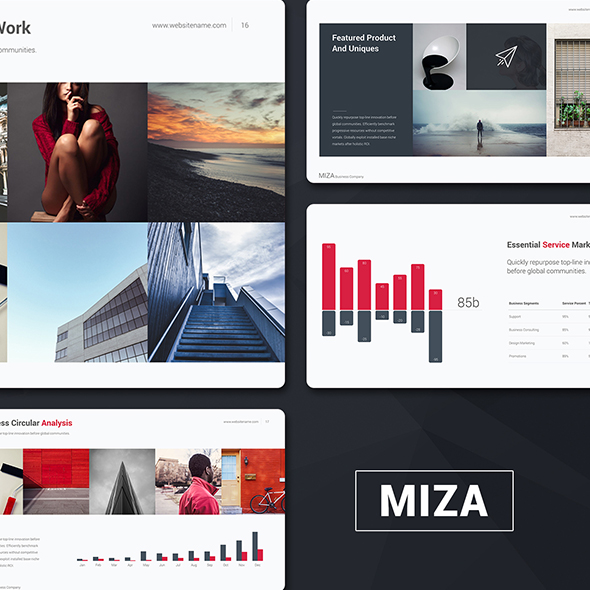 Miza Business Template