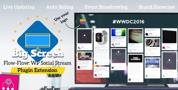 Broadcasting Extension for Flow-Flow Social Stream - CodeCanyon Item for Sale