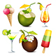 Summer Drinks and Ice Cream - GraphicRiver Item for Sale