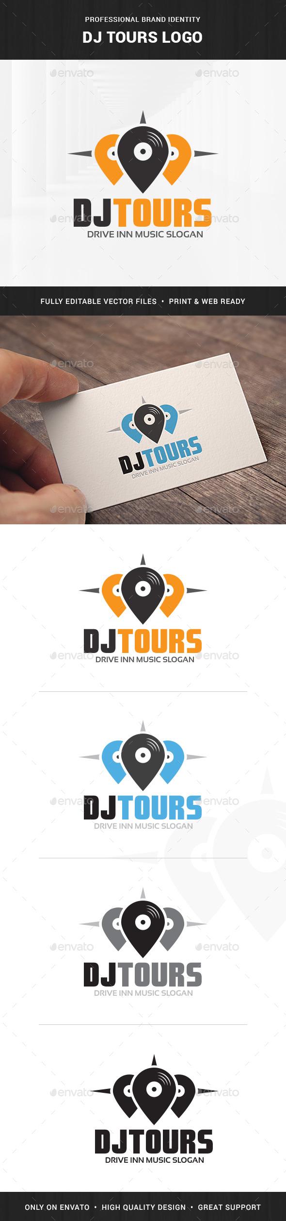 Logo Dj Graphics, Designs & Templates from GraphicRiver