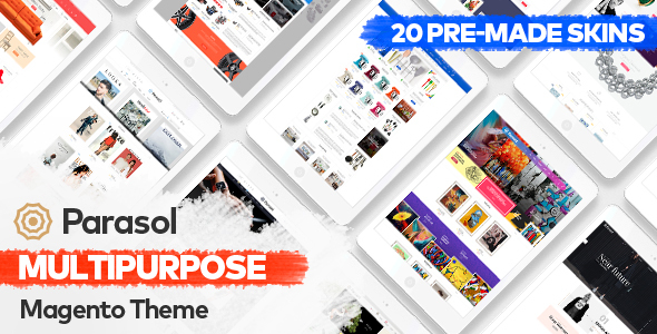 Parasol – Responsive Multi-Purpose Magento Theme