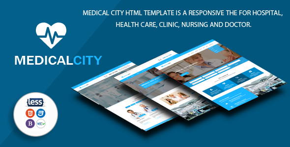 Medical City – Multi Theme For Hospital, Health Care, Clinic, Nursing and Doctor Html Template