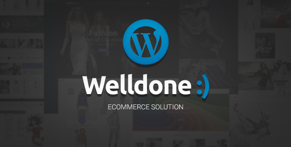 Welldone – WordPress theme