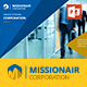 MISSIONAIR CORPS - Powerpoint Presentations - GraphicRiver Item for Sale