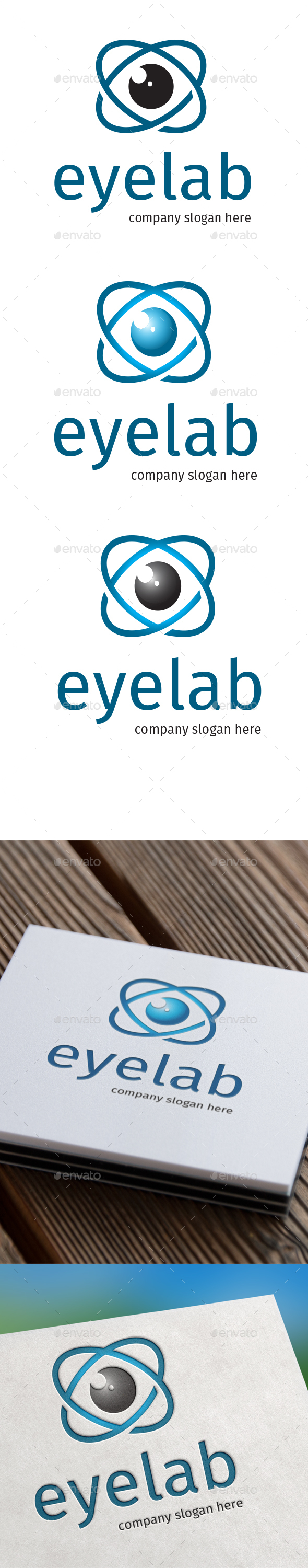 Eyelab Logo - Objects Logo Templates