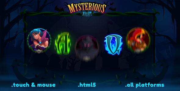 Mysterious Night Slot - CodeCanyon Item for Sale