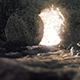 Easter Background - The Stone Is Rolling From Jesus' Tomb - VideoHive Item for Sale
