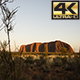 Sunrise over Uluru Australia  - VideoHive Item for Sale