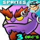 Orcs  2D Game Character Sprites  212 - GraphicRiver Item for Sale