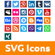 Social - SVG Animated Icons