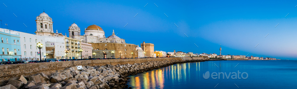 Cathedral of Cadiz - Stock Photo - Images
