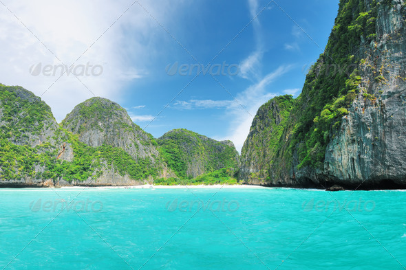 The Beach - Stock Photo - Images