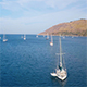 Boats in The Sea Aerial 17 - VideoHive Item for Sale