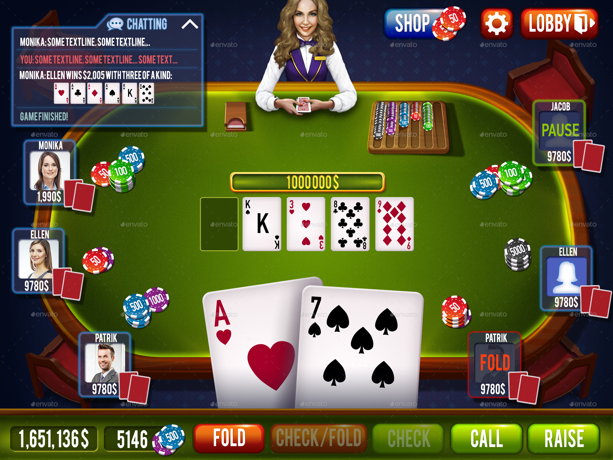 Double deck pitch blackjack rules