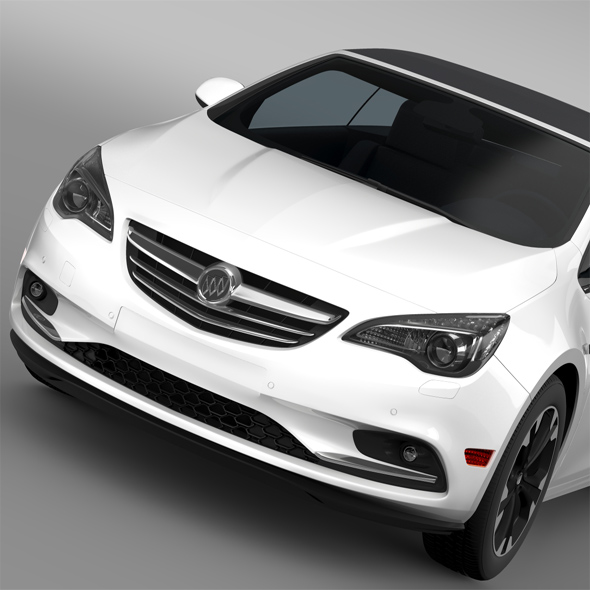 Buick Cascada Turbo 2016 - 3DOcean Item for Sale