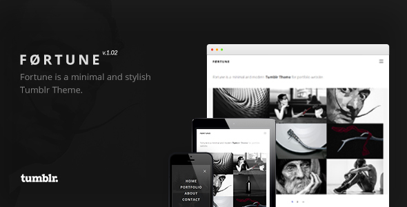 Fortune - Portfolio Tumblr Theme