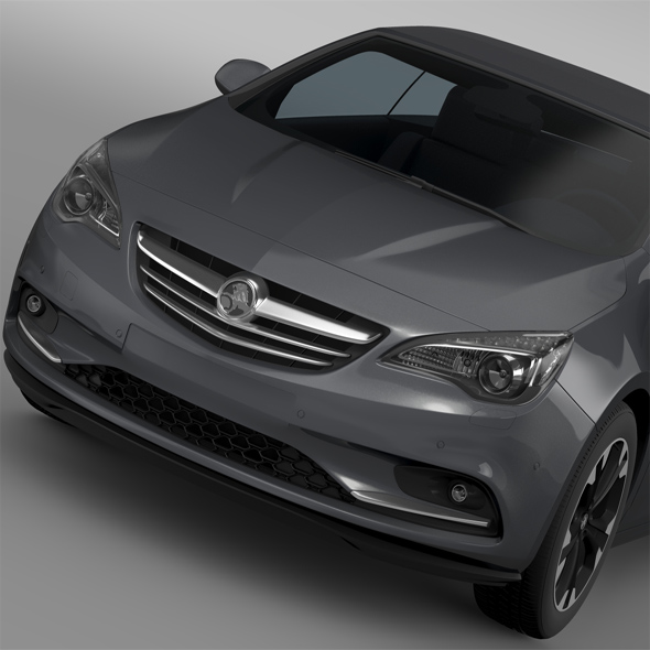 Holden Cascada Turbo 2016 - 3DOcean Item for Sale