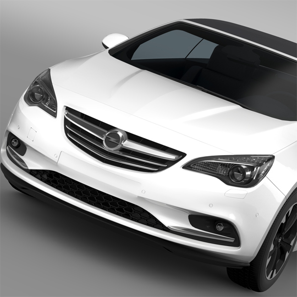 Opel Cascada 2016 - 3DOcean Item for Sale