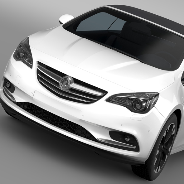 Vauxhall Cascada Turbo 2016 - 3DOcean Item for Sale