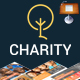 Charity Creative Keynote Presentation Template - GraphicRiver Item for Sale
