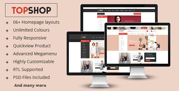 Topshop – Premium Responsive Prestashop Theme
