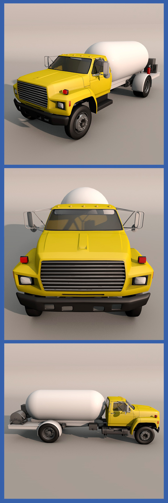 Kodiak Trucks - 3DOcean Item for Sale