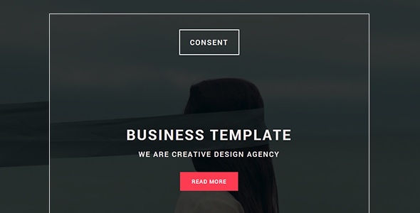 Consent - Responsive Email template with Stampready builder